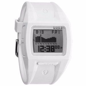 Nixon white Lodown watch